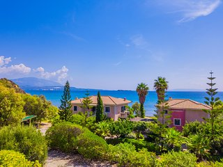 Kefalonia Beach Villas Nausicaa Upper Floor Apartment, 20m from Kounopetra beach