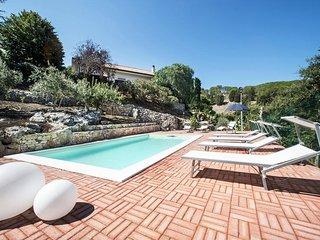 Villa con piscina privata - Riserva Bosco d'Alcamo - Relax