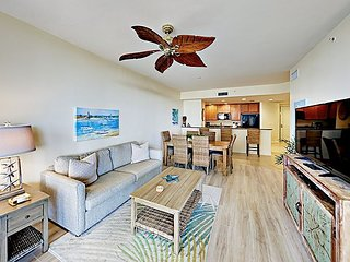 Stylish Water-View Condo w/ Balcony, Multiple Pools & Tennis Courts