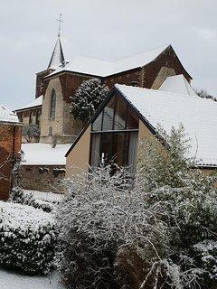 Quiétude hivernale au coeur du village
