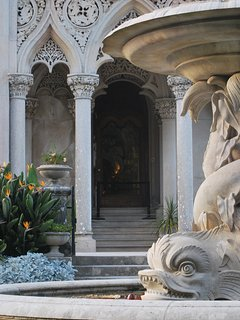 Monserrate house and park detail