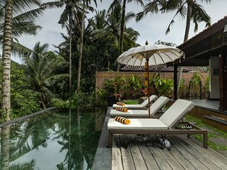 Villa Niyamas, Luxury on valley edge, Ubud heart