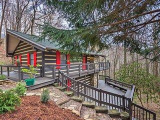 Pet-Friendly Cabin w/ Decks & Mountain Views!