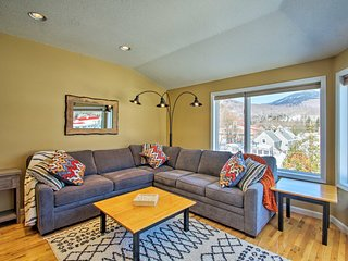 Lincoln Condo w/Mtn Views 2 Miles to Ski Resort!