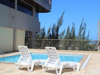 Lindo apartamento 3 quartos com Vista p/ Mar. CF29 ODT201