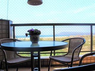 Bonito e confortável 3 quartos com Vista de Frente p/ Mar. Praia das Dunas