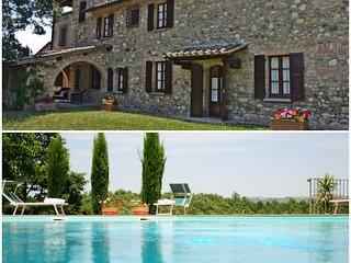 """Villa Palazzo Bello"" with pool - Cetona (Siena)"