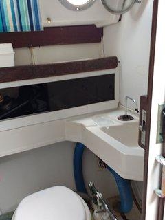 Banheiro de bordo