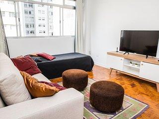 Ótimo apartamento Santa Cecilia, 2 quadras do metrô