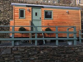 Lexi's shepherd hut.
