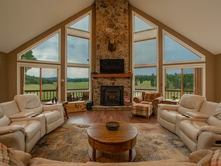 Stunning family home with game room, valley views, and private hot tub