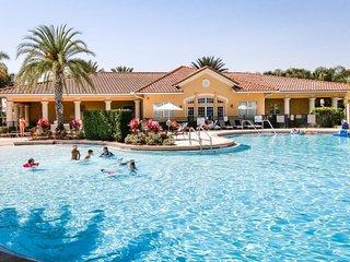 Dog-friendly condo w/ shared pool, gym, tennis, & game room - close to Disney!