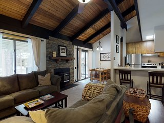 NEW LISTING! Family-friendly condo w/shared pool, hot tub, fireplace & game room