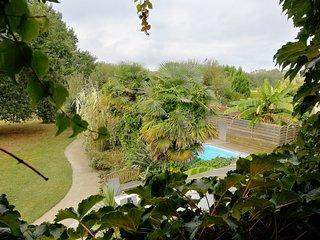 Maison 'la Donge' avec piscine à 10 min des plages