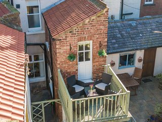 Or take in the stunning views from the first floor terrace