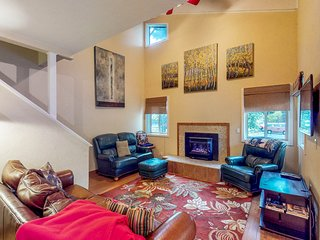 Centrally located, dog-friendly condo with beautiful mountain views