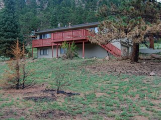 NEW LISTING! Enjoy nature from this charming, family-friendly cabin w/deck