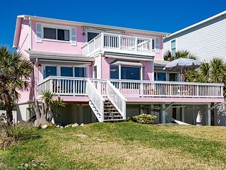 Spacious Oceanfront Home w/ Deck, 2 Balconies & Water-View Master Suite