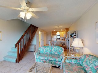 NEW LISTING! Waterfront, dog-friendly townhome w/ shared pool & sun deck