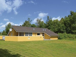 Awesome home in Jerup w/ Sauna, WiFi and 4 Bedrooms