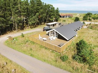 Nice home in Jerup w/ Sauna, WiFi and 4 Bedrooms (A20650)