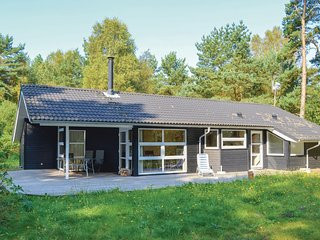 Stunning home in Saeby w/ Sauna, WiFi and 3 Bedrooms