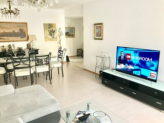 Spacious and elegant 2 bedroom apartment next to Arve river