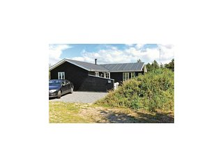 Nice home in Vejers Strand w/ WiFi and 3 Bedrooms (A3396)