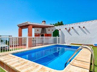 Hilltop villa w/ private pool, expansive terrace & incredible sea/mountain view!