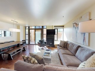 NEW LISTING! Luxury ski-in/out condo w/shared heated pool & private hot tub