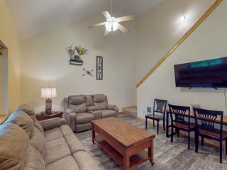 NEW LISTING! Lovely, central family home w/patio, yard -near fishing, skiing