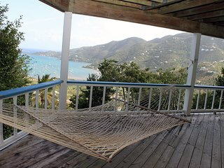 Breezy Hilltop Home with Stunning Views of Coral Bay and the Caribbean Sea!
