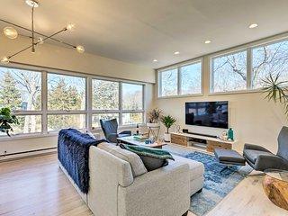 East Hampton Luxury: Home w/ Upscale Pool & Marina