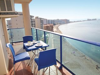 Beautiful home in La Manga del Mar Menor w/ WiFi and 2 Bedrooms