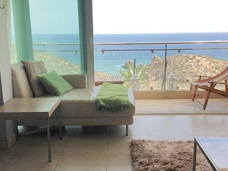 Awesome home in Puerto de Mazarron w/ WiFi, 2 Bedrooms and Outdoor swimming poo