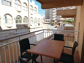 Awesome apartment in La Manga w/ WiFi and 2 Bedrooms