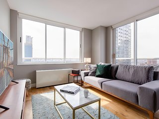 2BR in Hell's Kitchen w/ Gym + Pool close to the subway by Blueground