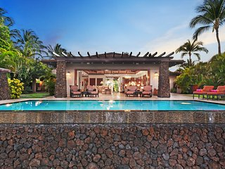 *NEW* 4BD Champion Ridge Luxurious Estate in Mauna Lani w/ Pool & Spa. House of