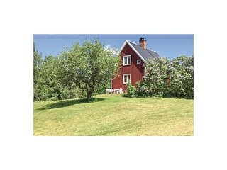 Amazing home in Boxholm w/ WiFi and 1 Bedrooms