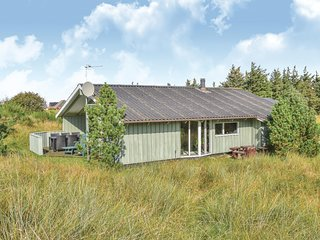 Amazing home in Hvide Sande w/ Sauna and 3 Bedrooms (A4025)