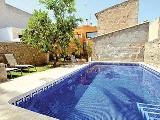 Beautiful home in Muro w/ WiFi and 3 Bedrooms