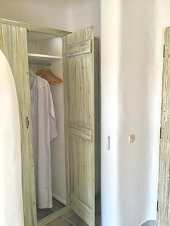 Lots of closet space in the second bedroom for all of your belongings.