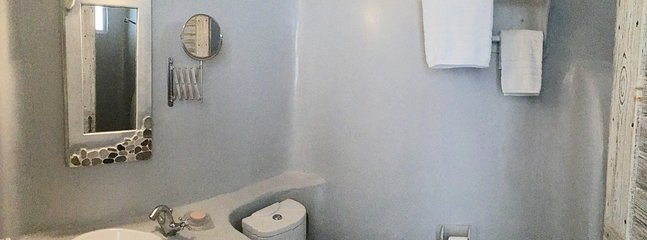 Large private en-suite bathroom to the second bedroom which has been fully renovated.