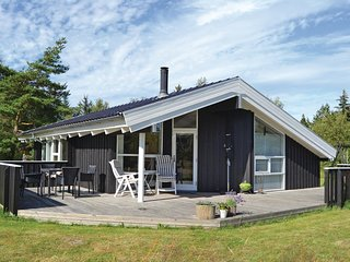Nice home in Jerup w/ Sauna, WiFi and 3 Bedrooms (E8012)