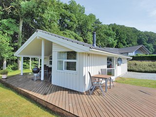 Nice home in Aabenraa w/ Sauna, WiFi and 3 Bedrooms (C1121)