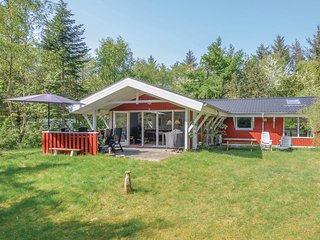 Nice home in Hurup Thy w/ Sauna, WiFi and 3 Bedrooms (B52109)