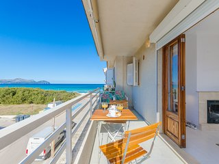 YourHouse Fonoll Mari - sea view apartment at the beach in Can Picafort