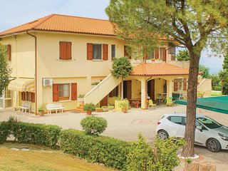 Beautiful home in San Costanzo PU w/ WiFi and 2 Bedrooms