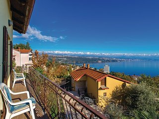 Nice home in Opatija w/ WiFi and 3 Bedrooms (CKO981)