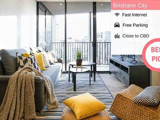 Brisbane CBD Luxury 2BED2BATH + FREE PARKING QBN55023
